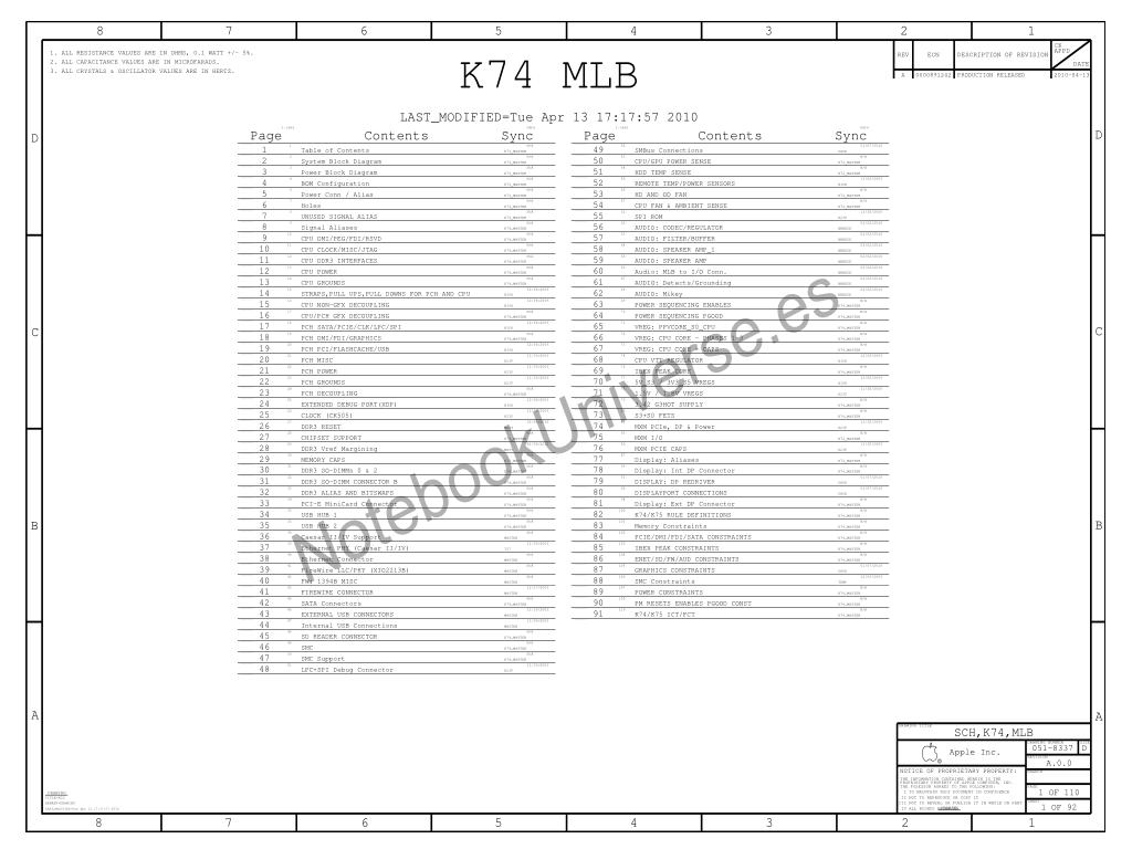 apple imac a1311 schematic  u2013 820