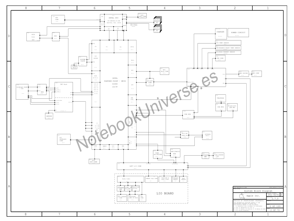 apple macbook air a1465 schematic  u2013 820