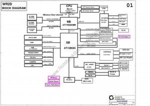 Quanta WR2D Revision 2B schematic