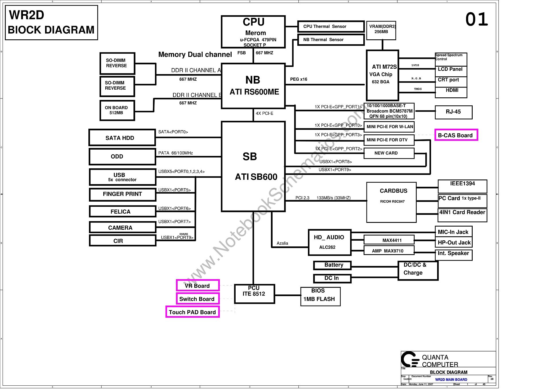quanta wr2d rev 2b schematic