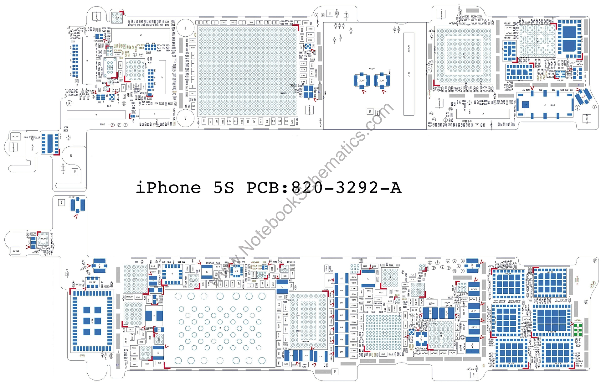 Iphone S Schematic on Iphone 5s Schematic Diagrams