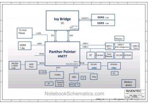 Fujitsu LIFEBOOK UH552 Schematic