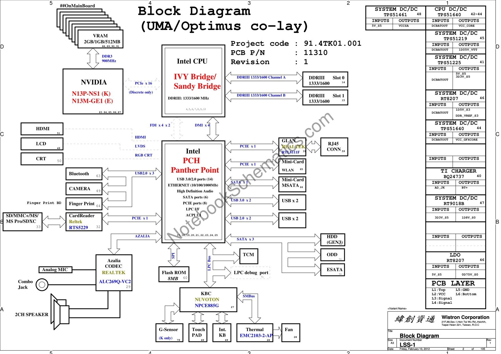 lenovo ideapad e49al schematic  u2013 wistron lss1 schematic