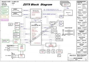 Wistron Z575 Schematic