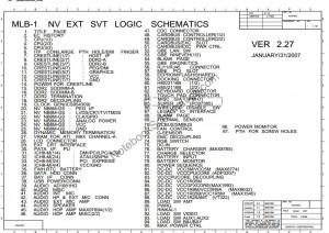 Lenovo T61 Schematic