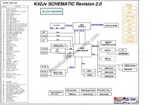 Asus K42Jv schematic