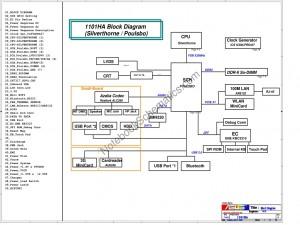 Asus 1101HAG Schematic
