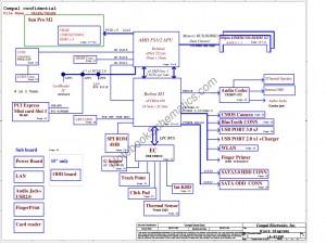 Compal LA-8126p schematic