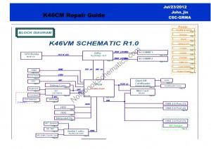 Asus K46vm schematic