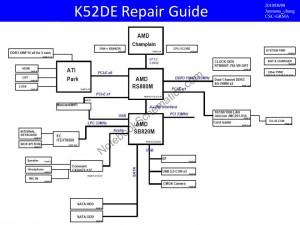 Asus K52DE schematic