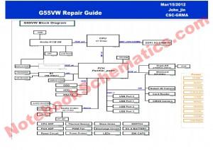 Asus G55VW Schematic