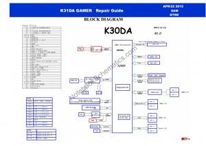 Asus K31 Schematic