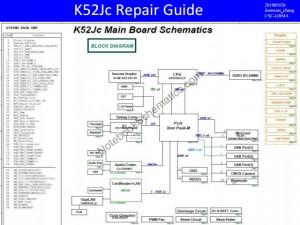 Asus K52JC Schematic