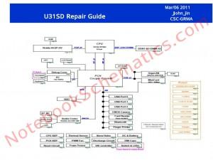 Asus U31SD Schematics