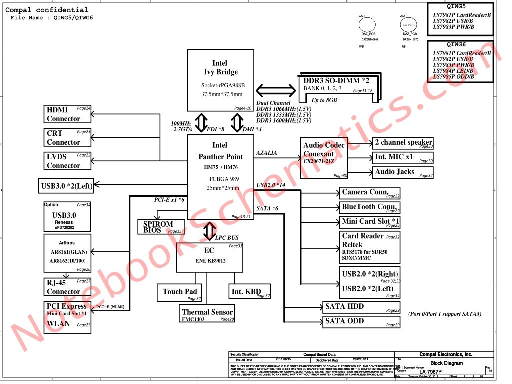 lenovo g580  g580a  g585 series schematic  u2013 compal qiwg5  qiwg6 la