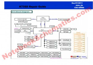 ASUS K73SD schematics guide