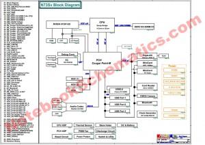 ASUS N73SV Schematics