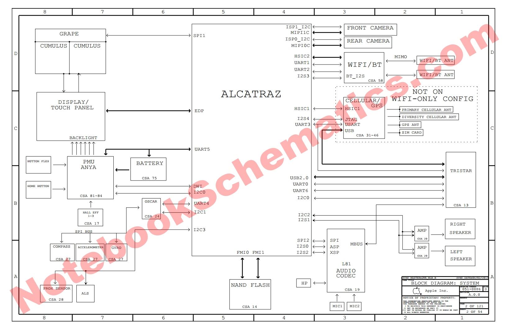 Ipad Mini 2 Schematic Diagram Logic Board Apple Retina X200 Notebookschematics Com Notebook Schematics At Best Parts For