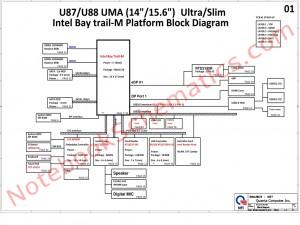 Quanta U88 Schematic