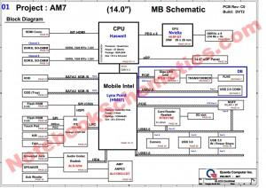 DAOAM7MB8D0 schematic