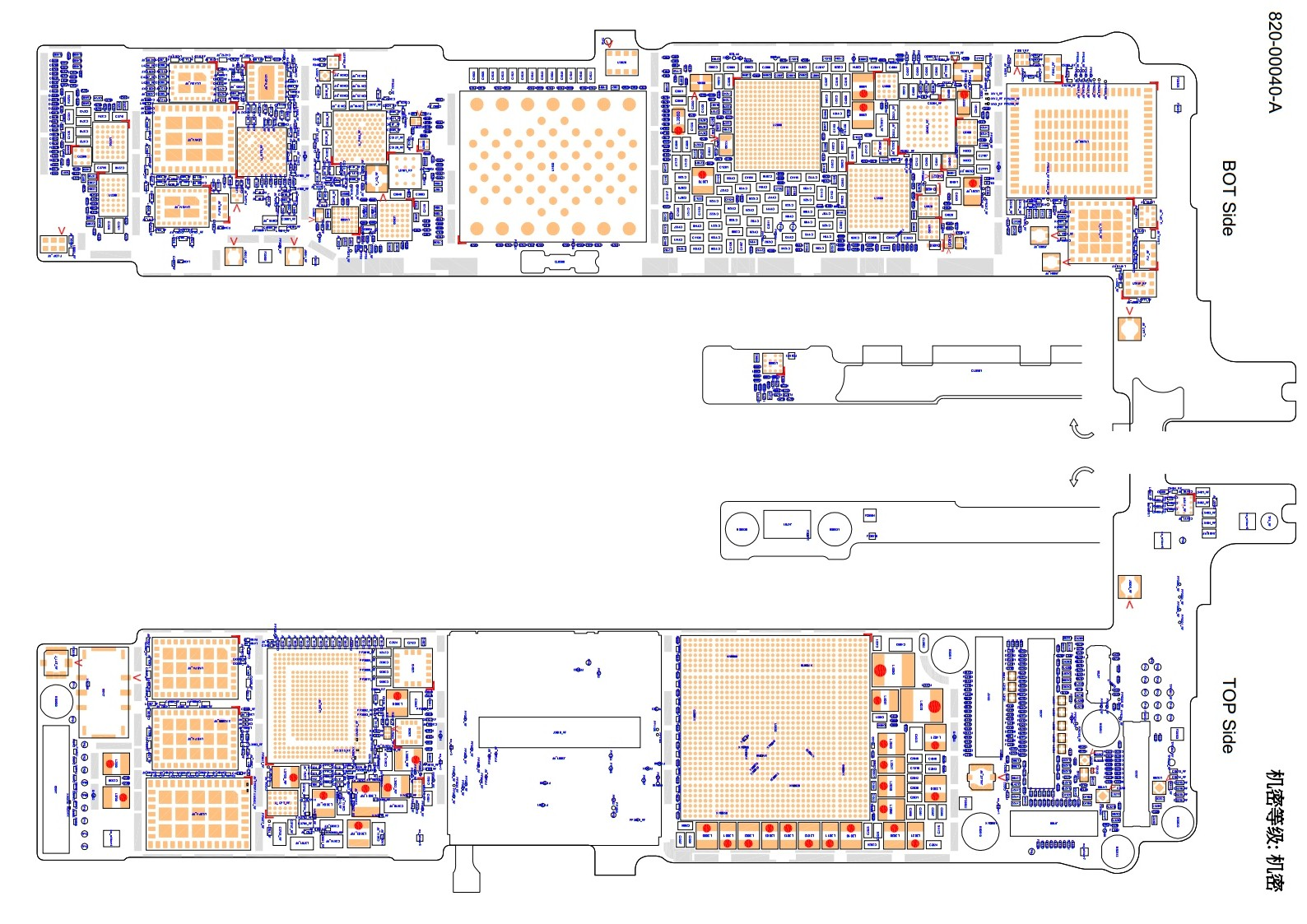 2012 10 01 archive additionally Iphone 4s Motherboard Diagram besides Photos Of Bare Iphone 5s Logic Board Surface With Space For Larger Main Chip besides Iphone 6s Plus N66 Schematic And Boardview moreover Diagram Of Next Iphones Internals Puts Leaked Parts In Context. on iphone 5 logic board schematic