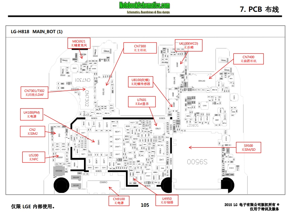 LG G4 Dual H818 Service manual (CHINESE LANGUAGE ONLY) with PCB ...