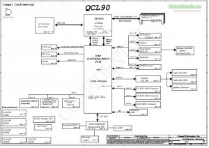 QCL90 Compal LA-8223P Schematic