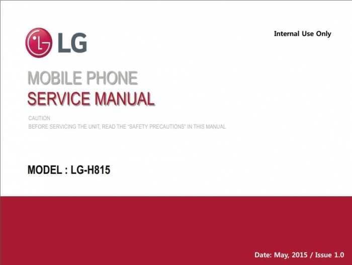 Lg G4 H815 Service Manual With Pcb Layout  Block Diagram