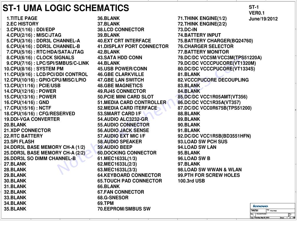 lenovo thinkpad t440s schematic  u2013 lcfc nm-a052 schematic