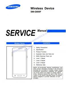 SM-G800F Service manual