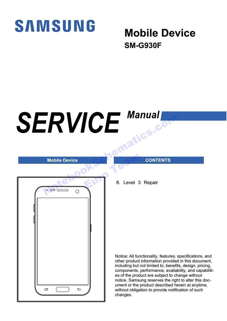 samsung galaxy s7 repair manual  u2013 sm