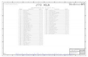 Schematic A1418 J70_MLB 820-4668 051-1407