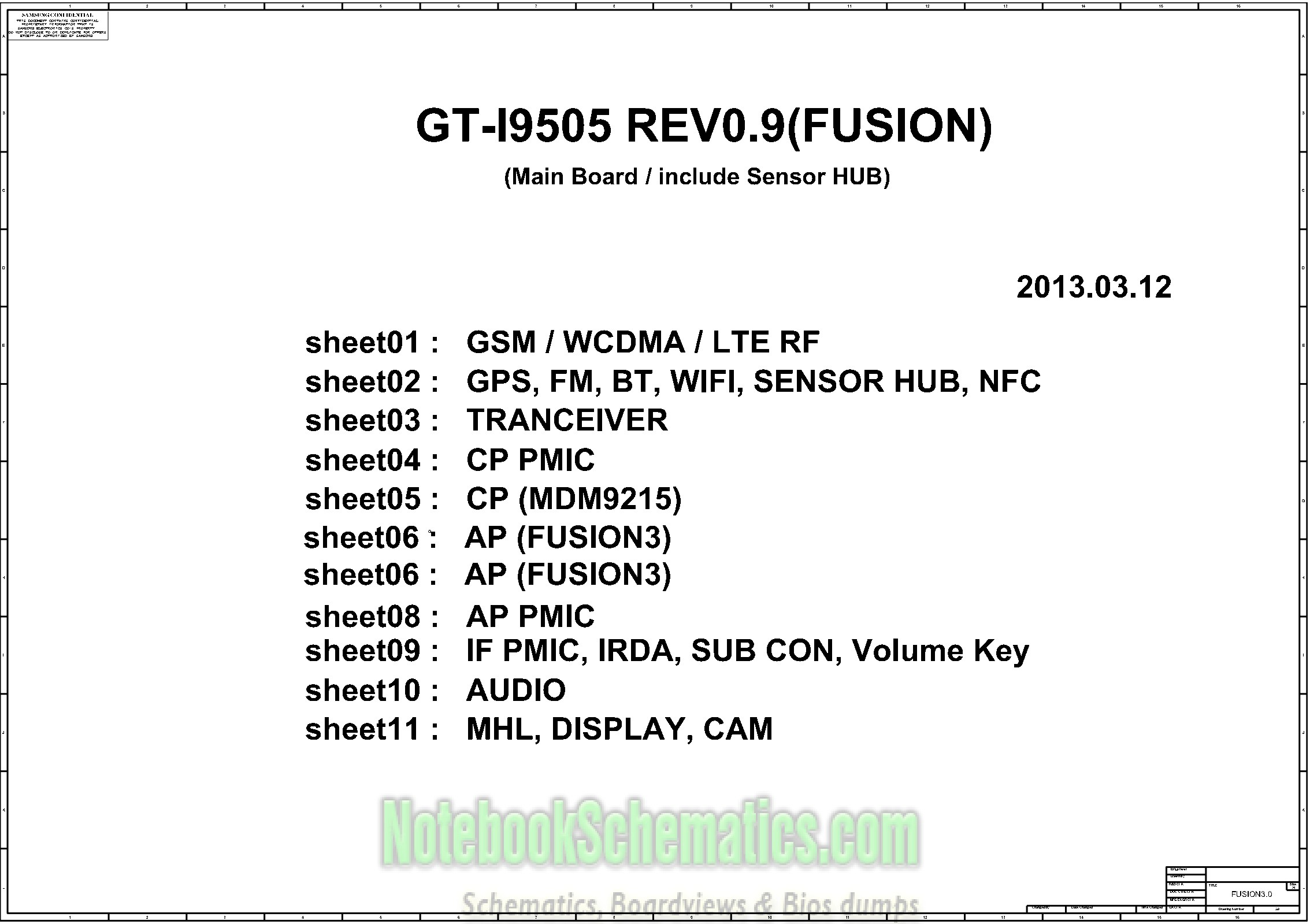 Samsung gt-i9505 sch service manual download, schematics, eeprom.