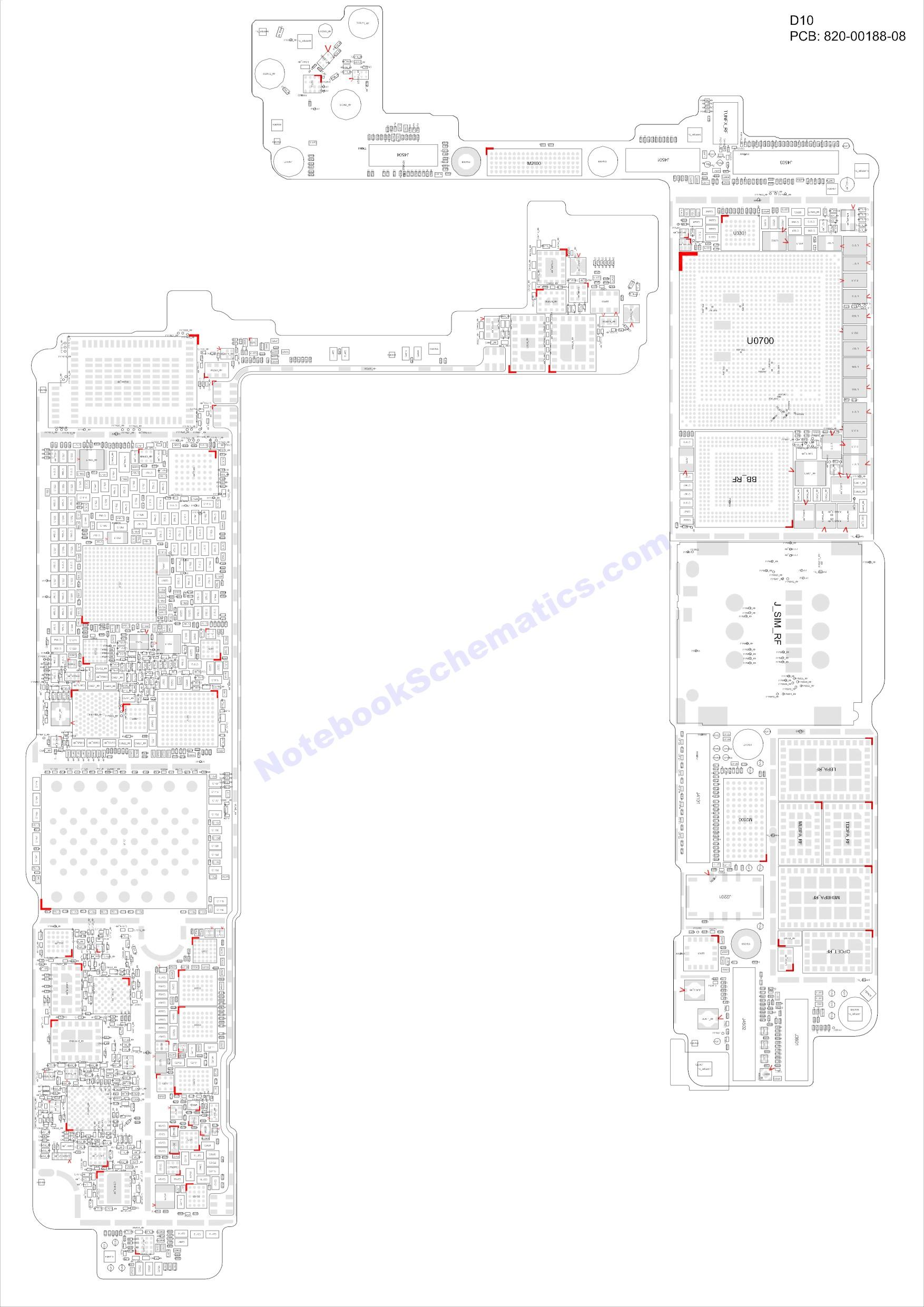 iphone 7 820-00188 schematic  u0026 pcb layout