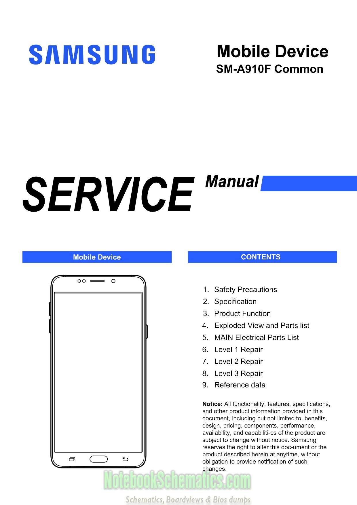 Samsung Galaxy A9 Pro 2016 Duos Service Manual  U2013 Sm