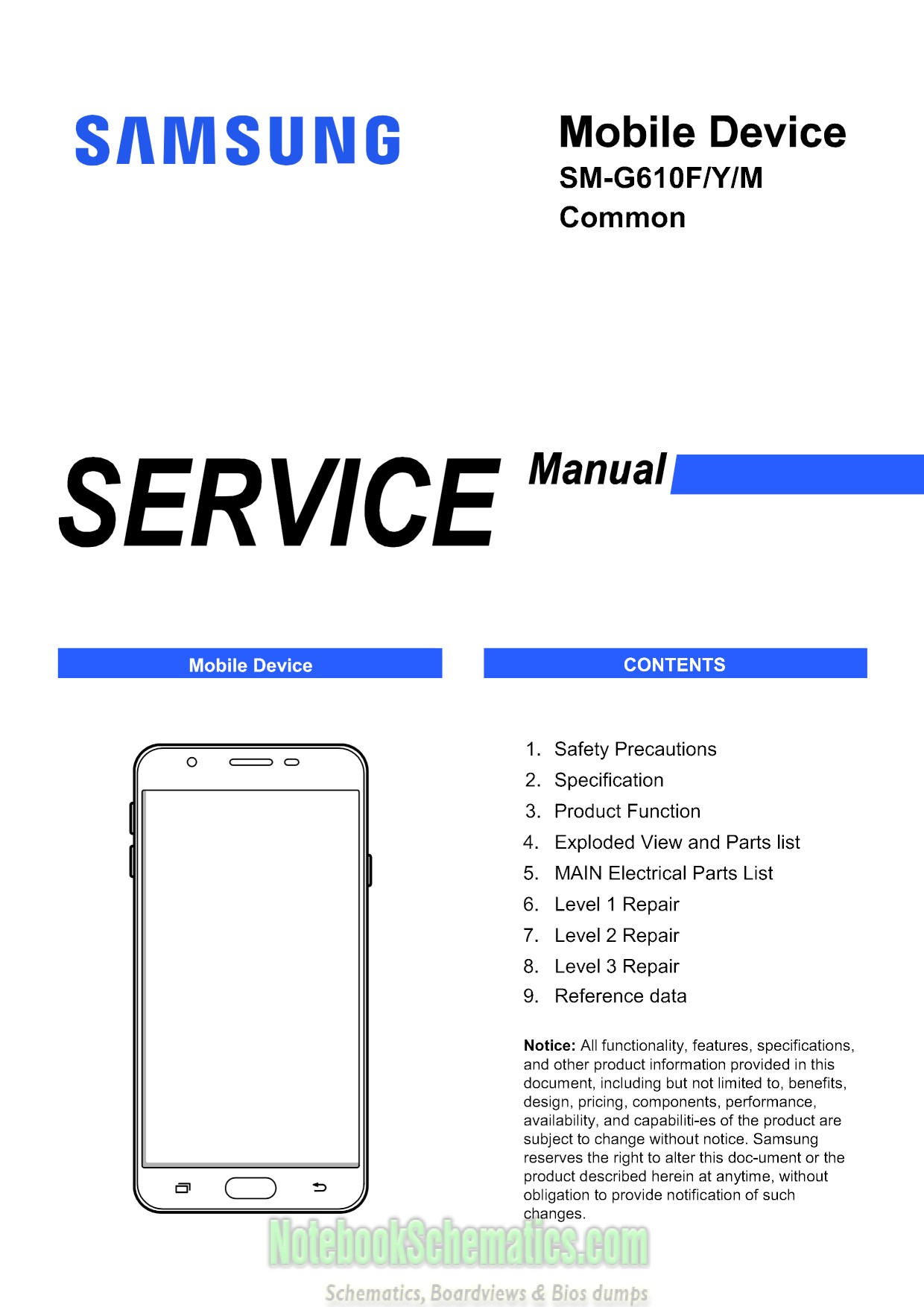 Samsung Galaxy J7 Prime Service Manual  U2013 Sm  Sm