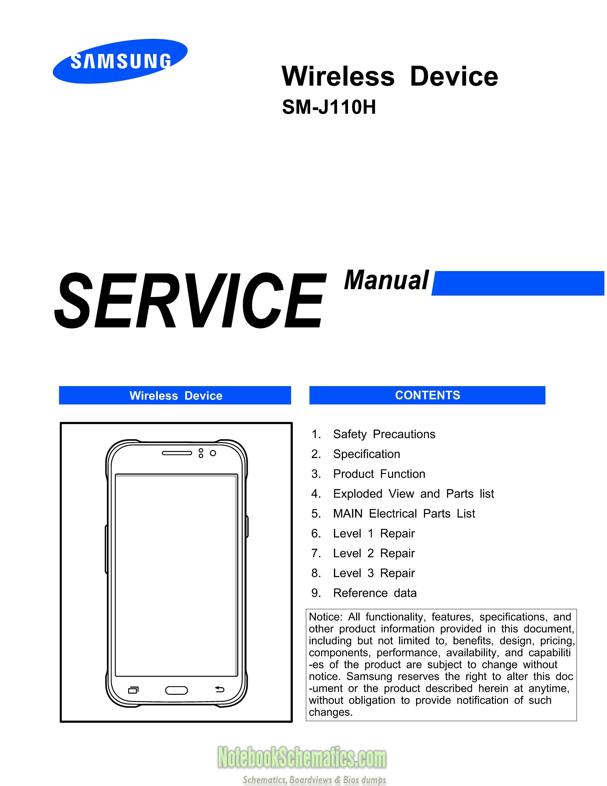 Samsung Galaxy J1 Ace 3g Duos Service Manual  U2013 Sm
