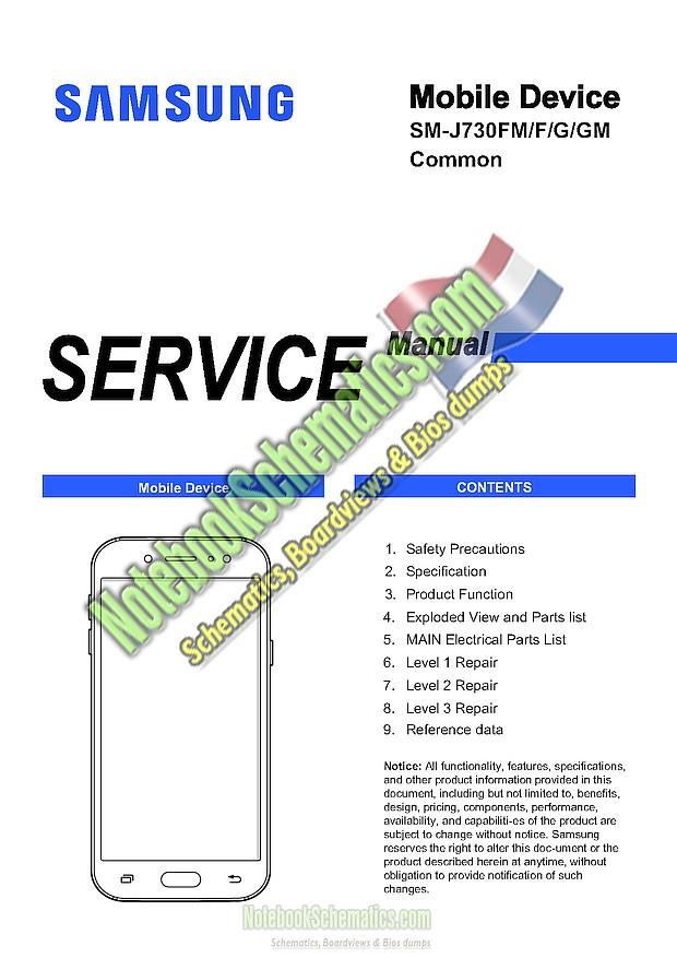 Samsung Galaxy J7 2017 Service Manual – SM-J730F / FM / G / GM